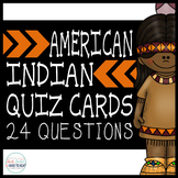 American Indian Quiz Cards Scoot