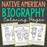 10 American Indian Tribes Coloring Pages Craft Posters, Na