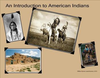 American Indians - A Second Grade SmartBoard Introduction