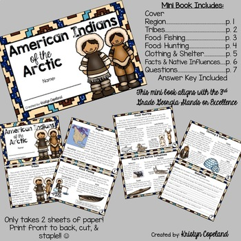 American Indians: ARCTIC Mini Books (Native Americans)