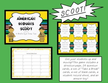 American Indians Games and Activities BUNDLE!