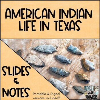 American Indians Before European Exploration - POWERPOINT and NOTES