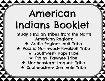 American Indians Booklet