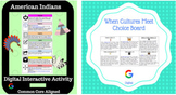 American Indians & Explorers Hyperdoc and Choice Board Two Pack