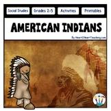 American Indians: Hopi, Inuit, Seminole, Kwakiutl, Nez Perce, Pawnee, Iroquois