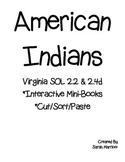 American Indians Interactive Mini Books & Sort