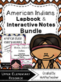 American Indians Lapbook & Interactive Bundle