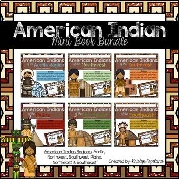 American Indians Mini Books BUNDLE (Native Americans)