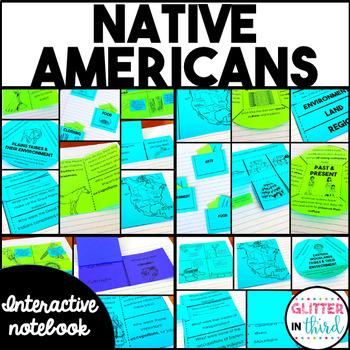 American Indians / Native Americans Social Studies Interactive Notebook