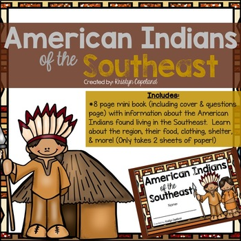 American Indians: SOUTHEAST Mini Books (Native Americans)