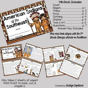 American Indians: SOUTHEAST Mini Books (Native Americans)