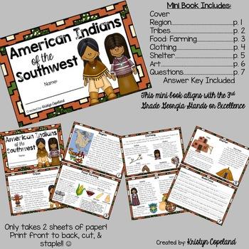 American Indians: SOUTHWEST Mini Books (Native Americans)