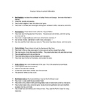 American Indians Study Guide 3rd Grade
