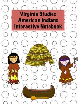 American Indians Virginia Studies Interactive Notebook