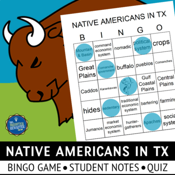 American Indians in Texas Bingo