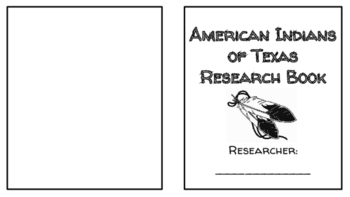 American Indians in Texas Student Research Book