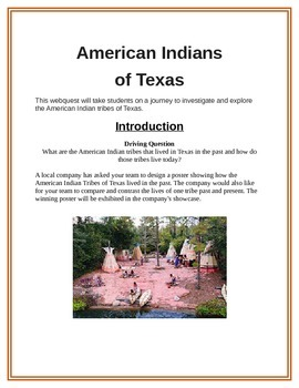 American Indians of Texas Project