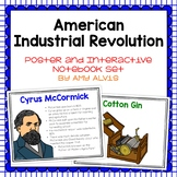 American Industrial Revolution Poster and Interactive Note
