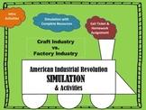 American Industrial Revolution Activity Simulation