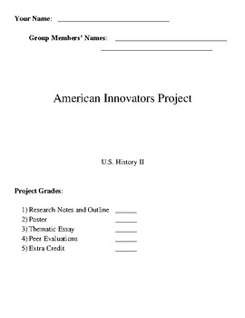 American Inventions and Innovators Project