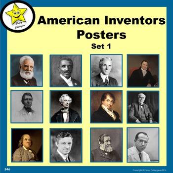 American Inventors Posters, Set 1