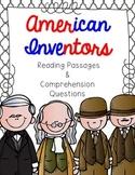 American Inventors Reading Passage Bundle
