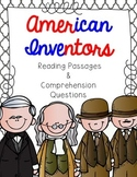American Inventors Reading Passage Bundle