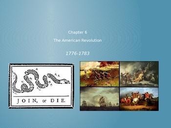 American Journey Chp 6 The American Revolution