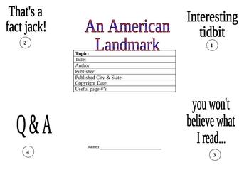 American Landmark Foldable
