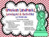 American Landmarks Brochure Templates & Extension Activities