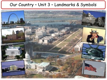 American Landmarks & Symbols : Complete Unit Bundle