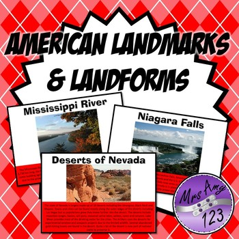 American Landmarks and Land Forms