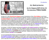 American Law: Intro to Law: O.J. Simpson CASE STUDY