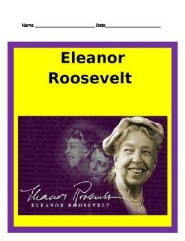 Eleanor Roosevelt Study Guide- 3rd Grade Social Studies