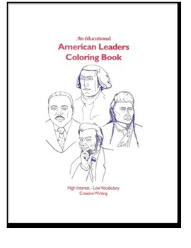 American Leaders Coloring Book