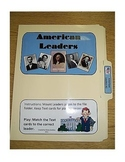 American Leaders: File Folder Activity