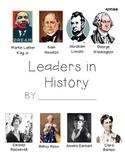 American Leaders Scrapbook