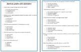 American Leaders UNIT ASSESSMENT-3rd Social Studies