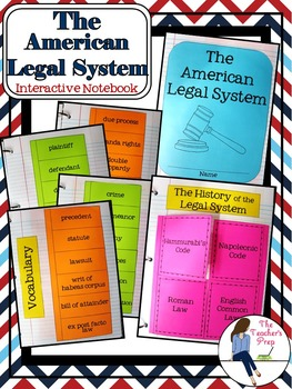 American Legal System Interactive Notebook
