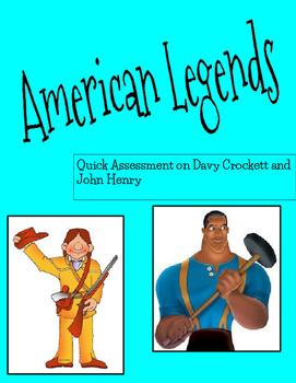 American Legends: Davy Crockett and John Henry