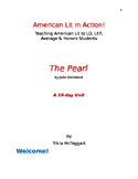 American Lit in Action!  THE PEARL