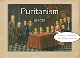 American Literary Periods: Puritanism Notes