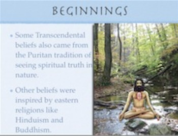 American Literary Periods: Transcendentalism Notes