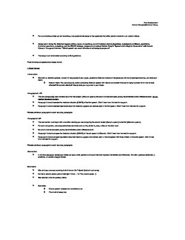American Literature (10-11th grade) Speech Analysis Activities