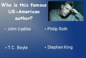 American Literature: A PowerPoint Fun Quiz