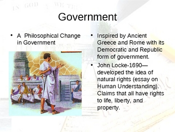 American Literature : Age of Reason Powerpoint