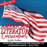 American Literature Curriculum, Year-Long Curriculum, BUND