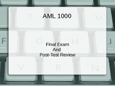 American Literature Final Exam PPT Review