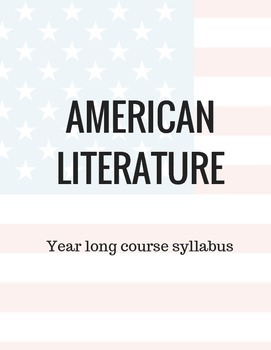 American Literature Full Year Course Reading List