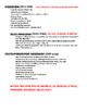 "American Literature ""Isms"" Summary Sheet"